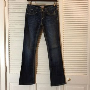 ReRock for Express Barely Boot Cut Jeans